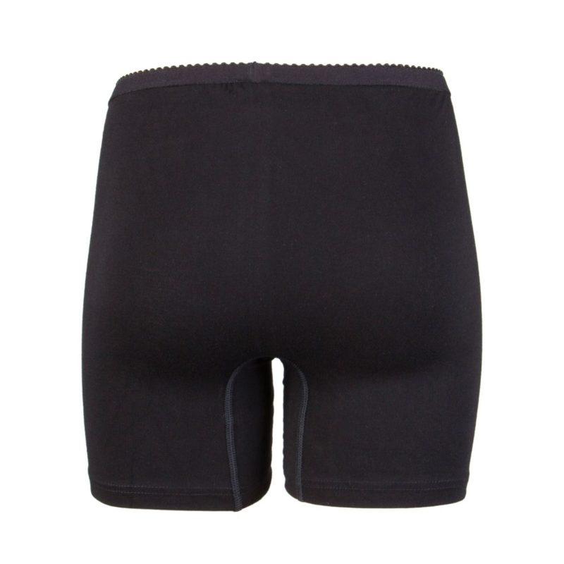 Beeren dames boxershort softly zwart achterkant