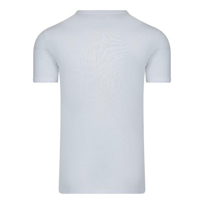Beeren Heren T-Shirt Wit M3000 Achterkant