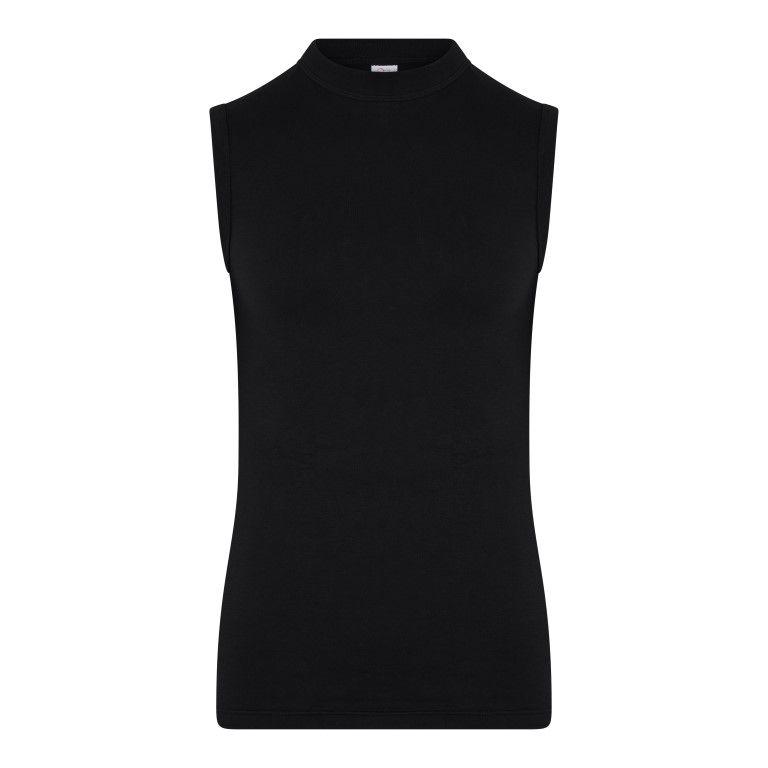 Beeren Mouwloos Shirt Comfort Feeling Zwart