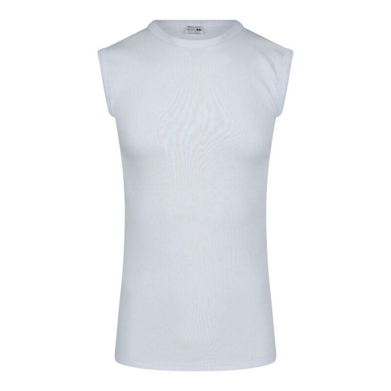 Beeren Mouwloos Shirt Wit