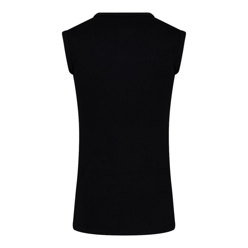 Beeren Mouwloos Shirt Zwart achterkant