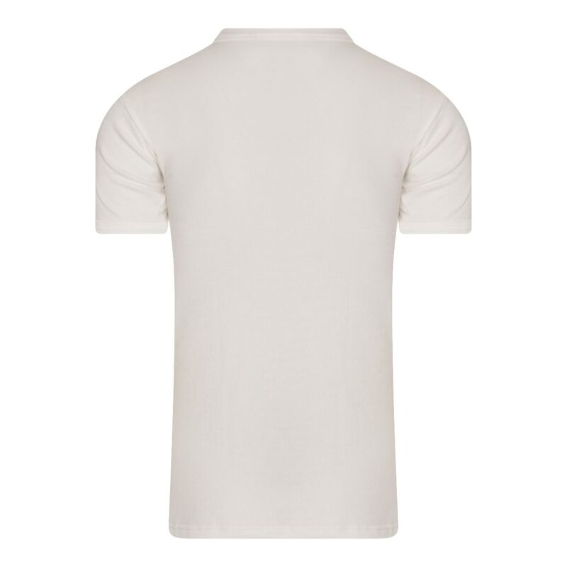 Beeren Thermo Shirt Heren Wolwit achterkant