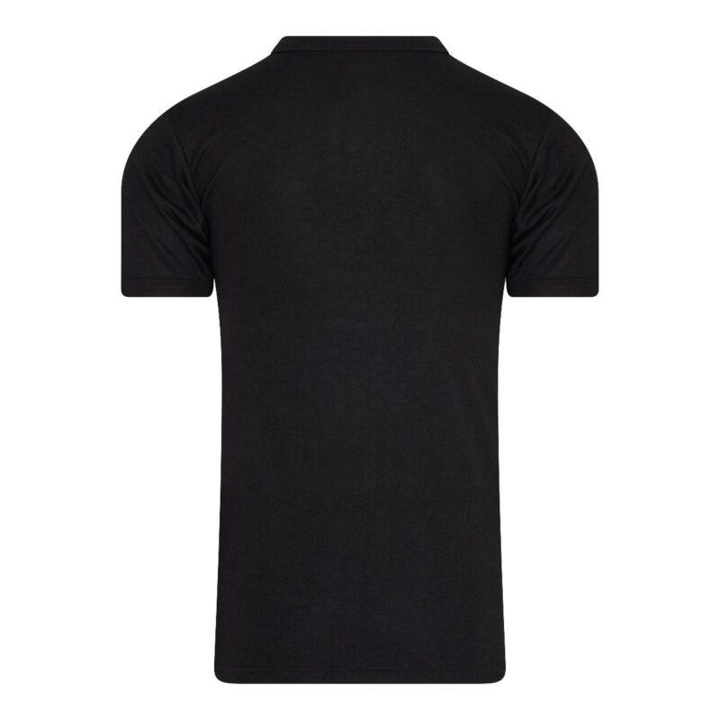 Beeren Thermo Shirt Heren Zwart achterkant