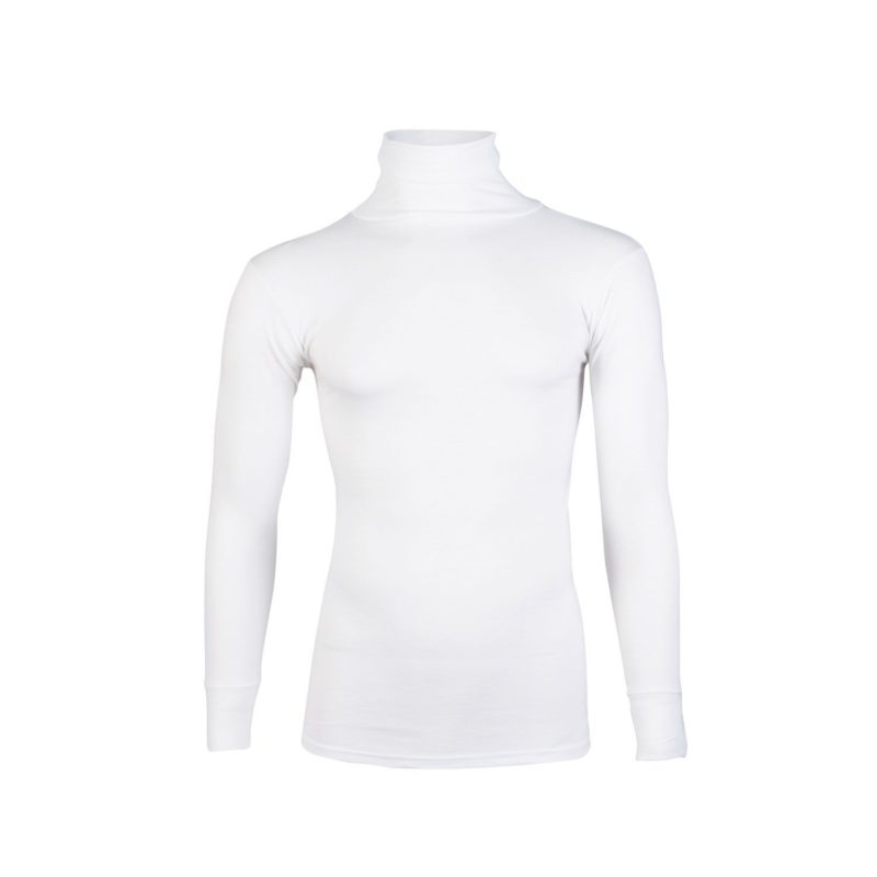 Beeren unisex thermo colshirt wolwit