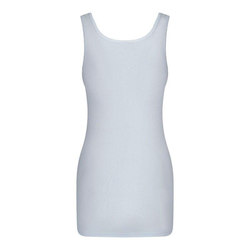 Dames Hemd Briljant Wit achterkant