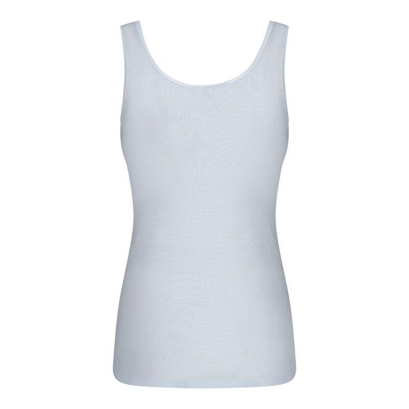Dames Hemd Madonna Wit achterkant