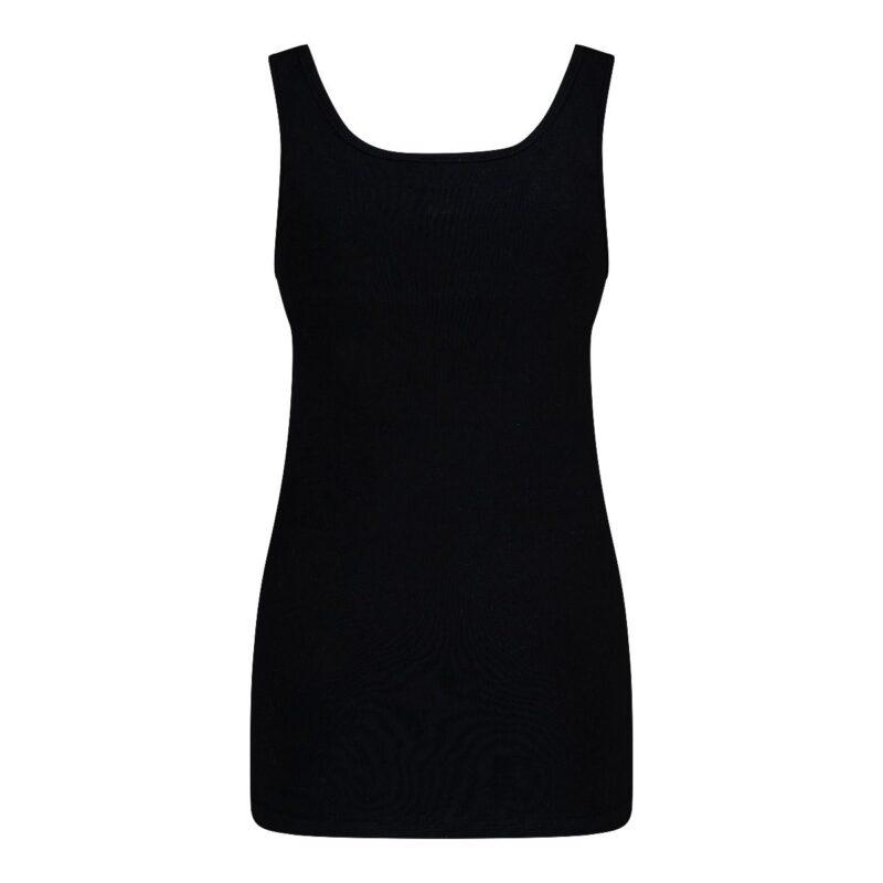Dames Hemd Viola Zwart achterkant