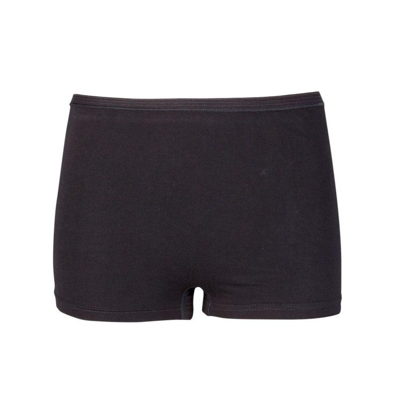 Dames boxershort comfort feeling zwart