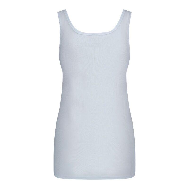 Dames hemd Viola wit achterkant