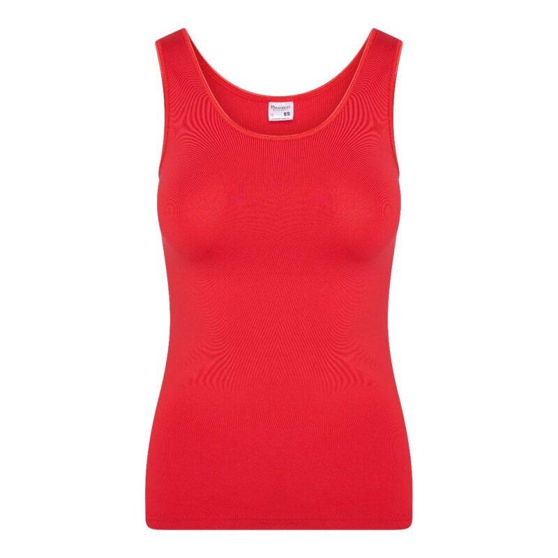 Dames hemd élégance rood