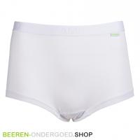 bamboe boxershort dames wit