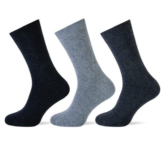 sokken antraciet assortie