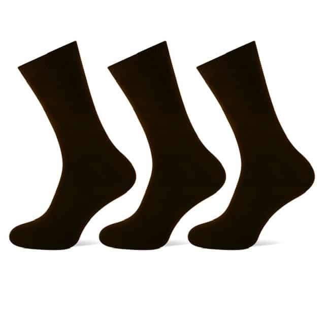heren katoenen sokken teckel