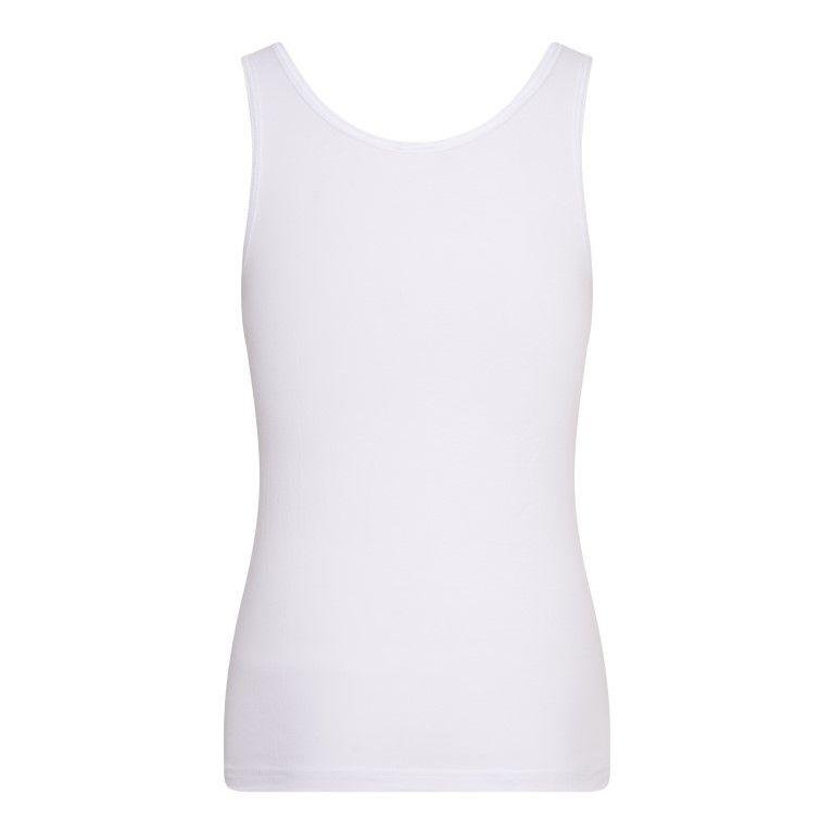 Beeren Meisjes Hemd Comfort Feeling Wit achterkant
