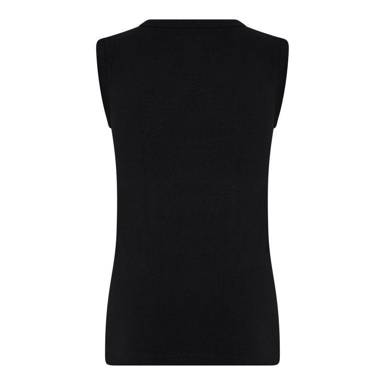 Beeren Jongens Mouwloos Shirt Comfort Feeling Zwart achterkant