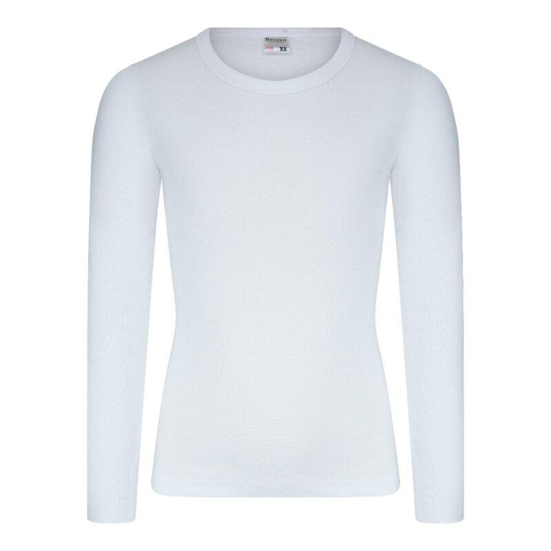 Beeren Jongens Shirt Lange Mouwen M3000 Wit