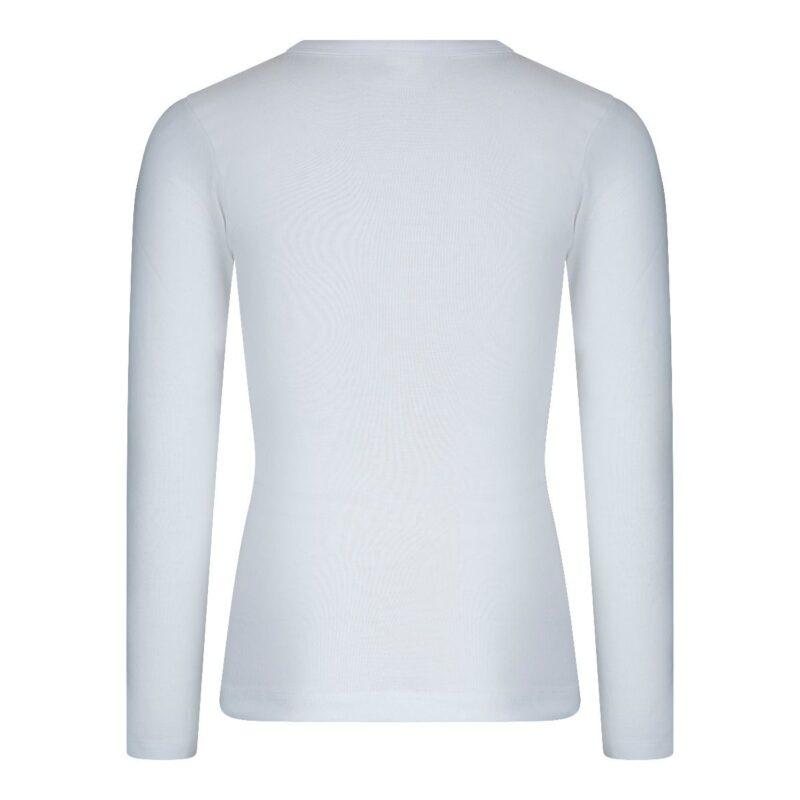 Beeren Jongens Shirt Lange Mouwen M3000 Wit achterkant
