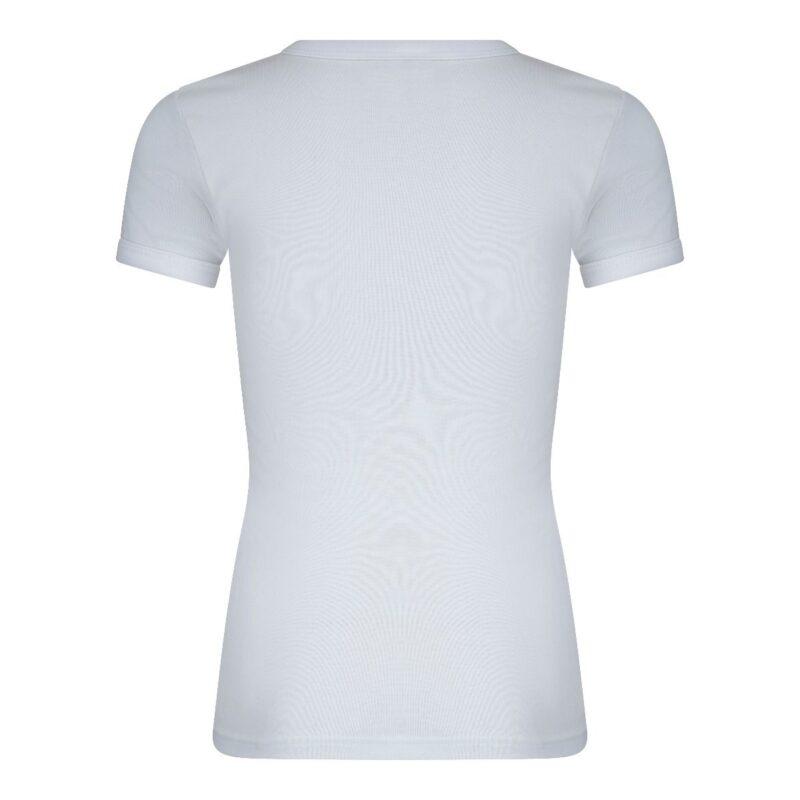 Beeren Jongens Shirt V-Hals Korte Mouwen M3000 Wit achterkant