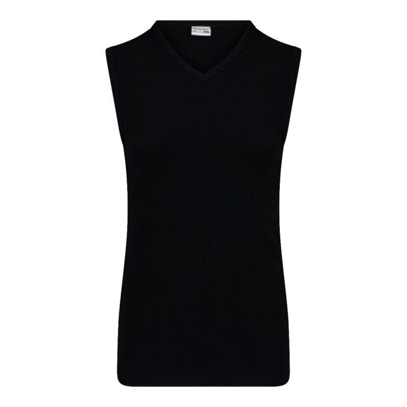 Beeren Mouwloos Shirt V-Hals M3000 Zwart