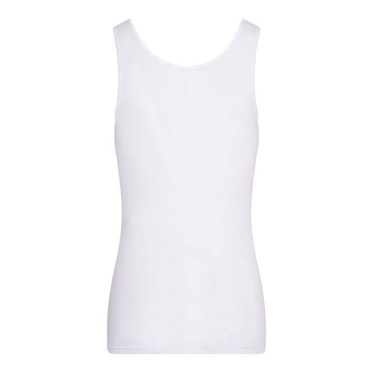 Dames Hemd Comfort Feeling Wit achterkant