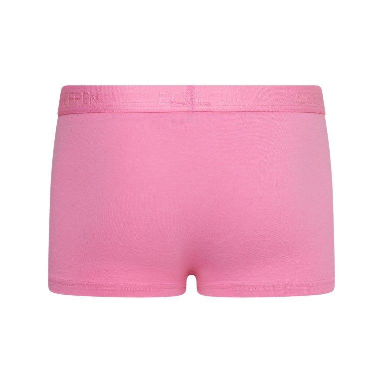 Beeren Meisjes Boxershort Comfort Feeling Roze achterkant