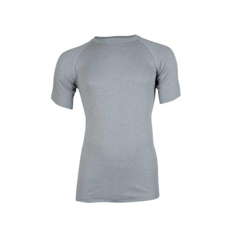 Beeren Unisex Thermo Shirt met Korte Mouwen Grijs