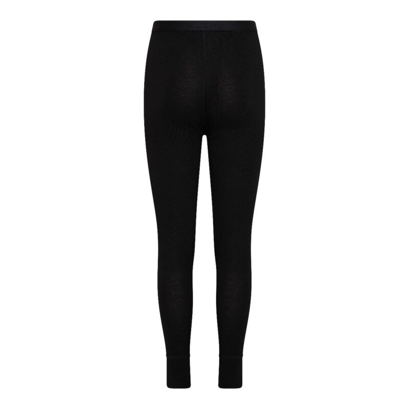 Kinder Thermo Pantalon Zwart achterkant