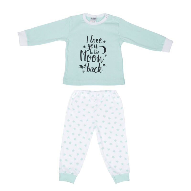 Beeren Baby Pyjama To The Moon Mint