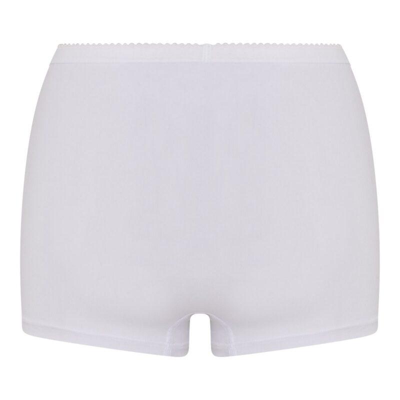 Beeren Dames Panty Softly Wit achterkant