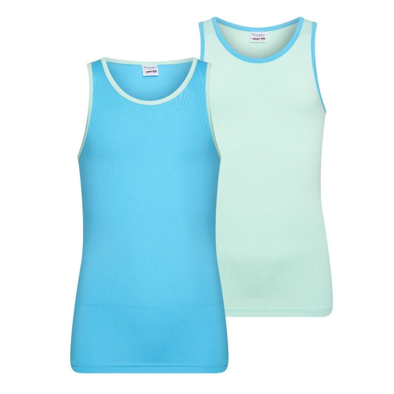 Beeren 2Pack Mix Match Meisjes Hemd Mint Turquoise